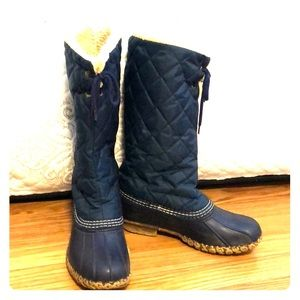 LL Bean Tall winter boots!
